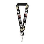 Disney Designer Lanyard - Nightmare Before Christmas - Cutie Characters