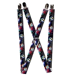Disney Designer Suspenders - Jack & Sally - Electric Glow
