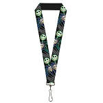 Disney Designer Lanyard - Jack Skellington Arms Crossed - Electric Glow