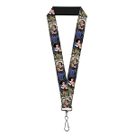 Disney Designer Lanyard - Snow White - Classic Movie Scenes - Blocks