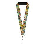 Disney Designer Lanyard - PIXAR Movie UP - Wilderness Explorers Badges