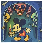 Disney Magnet - Haunted Mickey by Dave Quiggle
