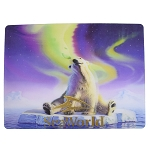 SeaWorld Postcard - Polar Bear - Lenticular