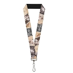 Disney Designer Lanyard - Pixar Movie UP - Adventure Book Snapshots