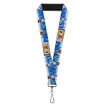 Disney Designer Lanyard - Pixar Movie UP - Flying House w/ Balloons