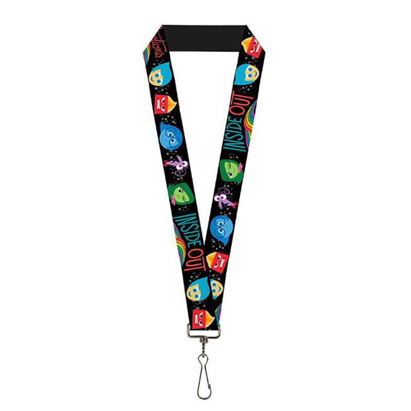 Disney Designer Lanyard - Inside Out - Character Expressions - Every Day is Full of Emotions