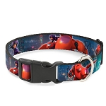 Disney Designer Breakaway Pet Collar - Baymax & Hero - San Fransokyo