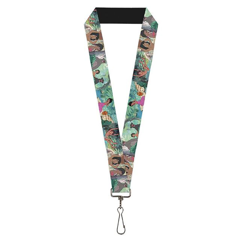 Disney Designer Lanyard - The Jungle Book - Classic Movie Scenes