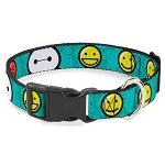Disney Designer Breakaway Pet Collar - Big Hero Six - Baymax - Mood Expressions / Emojis