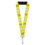 Disney Designer Lanyard - Big Hero Six - Baymax - Hanko Face