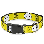 Disney Designer Breakaway Pet Collar - Big Hero Six - Baymax - Hanko Face