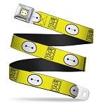 Disney Designer Seatbelt Belt - Big Hero Six - Baymax - Hanko Face