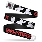 Disney Designer Seatbelt Belt - Big Hero 6 - Baymax Poses