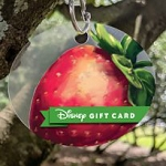 Disney Collectible Gift Card - 2019 Flower and Garden Wristband - Strawberry