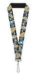 Disney Designer Lanyard - Alice in Wonderland w/ Clock
