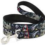 Disney Designer Pet Leash - Nightmare Before Christmas Characters in Cemetery
