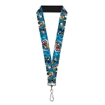 Disney Designer Lanyard - Mickey Mouse & Donald Duck - Kingdom Hearts