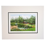 Disney Artist Print - Larry Dotson - Fort Wilderness Resort and Campground