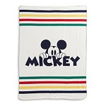 Disney Fleece Throw Blanket - Hudson Bay - Mickey Mouse 90th LE