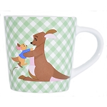 Disney Coffee Cup - Kanga and Roo Checkered Mug