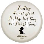 Disney Paperweight - Aristocats Silhouette Art Quote