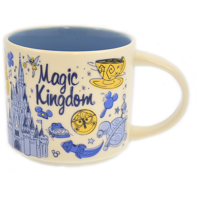 Disney Coffee Cup - Starbucks Been There - Magic Kingdom