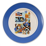 Disney Plate - Disneyland Diamond Celebration - Decades - 7''