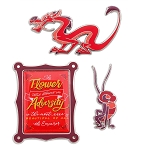 Disney Wisdom Pin Set - February 2019 - Mushu