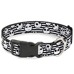 Disney Designer Breakaway Pet Collar - Nightmare Before Christmas - Jack Skellington - Stripe