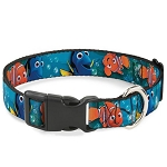 Disney Designer Breakaway Pet Collar - Nemo & Dory - Poses