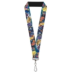 Disney Designer Lanyard - Nemo & Friends