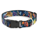 Disney Designer Breakaway Pet Collar - Nemo & Friends