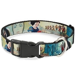 Disney Designer Breakaway Pet Collar - Snow White & the Seven Dwarfs with Old Hag / Evil Queen