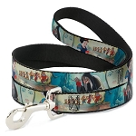 Disney Designer Pet Leash - Snow White & the Seven Dwarfs with Old Hag / Evil Queen
