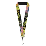 Disney Designer Lanyard - Sleeping Beauty & Maleficent Dragon Scenes