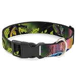 Disney Designer Breakaway Pet Collar - Sleeping Beauty & Maleficent Dragon Scenes