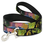 Disney Designer Pet Leash - Sleeping Beauty & Maleficent Dragon Scenes