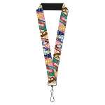 Disney Designer Lanyard - Princess Jewels