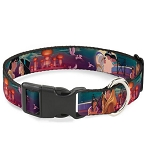 Disney Designer Breakaway Pet Collar - Aladdin & Jasmine - Moonlight Castle Scene