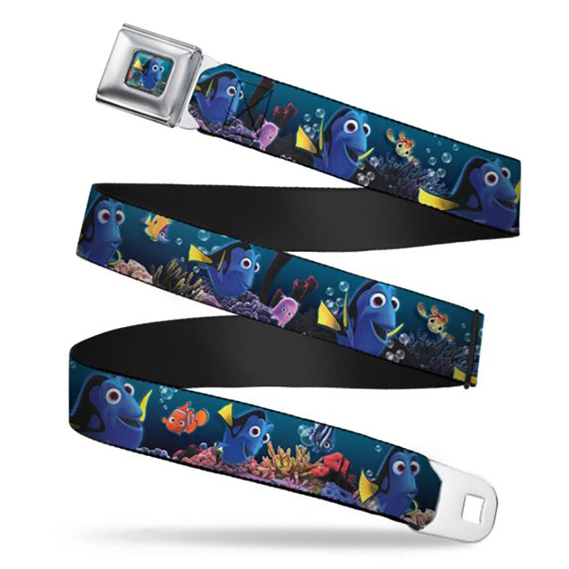 Disney Designer Seatbelt Belt - Dory & Friends - Under the Sea