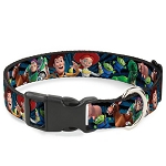 Disney Designer Breakaway Pet Collar - Toy Story Characters - Running