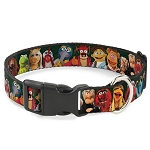 Disney Designer Breakaway Pet Collar - Muppets - Character Group Pose