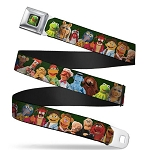 Disney Designer Seatbelt Belt - Muppets - Character Group Pose