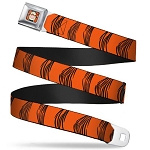 Disney Designer Seatbelt Belt - Tigger Stripes
