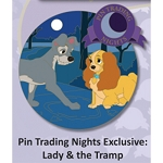 Disney Pin - Pin Trading Nights - Lady and the Tramp