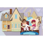 Disney Pin - UP - Celebrating 10 Years - House Jumbo Pin