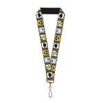 Disney Designer Lanyard - WALL-E & Eve - Hazard Blocks