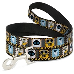 Disney Designer Pet Leash - WALL-E & Eve - Hazard Blocks