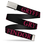 Universal Designer Web Belt - Gryffindor - Harry Potter
