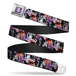 Disney Designer Seatbelt Belt - Villains